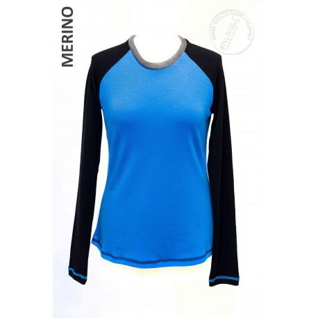 MARTA modrá v kombinaci s černou